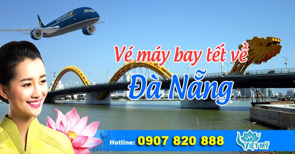 Vé máy bay tết 2017 đi Đà Nẵng