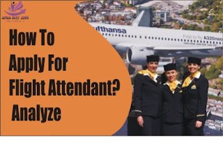 How To Apply For Flight Attendant? Analyze The Whole Procedure