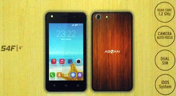 Advan Vandroid S4F Limited Edition