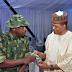 Veteran Nigerian Rapper Eedris Abdulkareem visits the Air Force Base