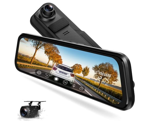 EYETOO Front and Rear Night Vision Mirror Dash Cam