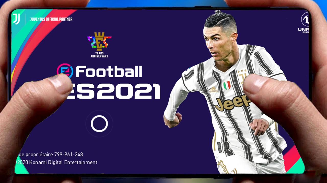 رسميا: لعبة بيسpes 2021  للاندرويد الاصلية من شركة konami كاملة