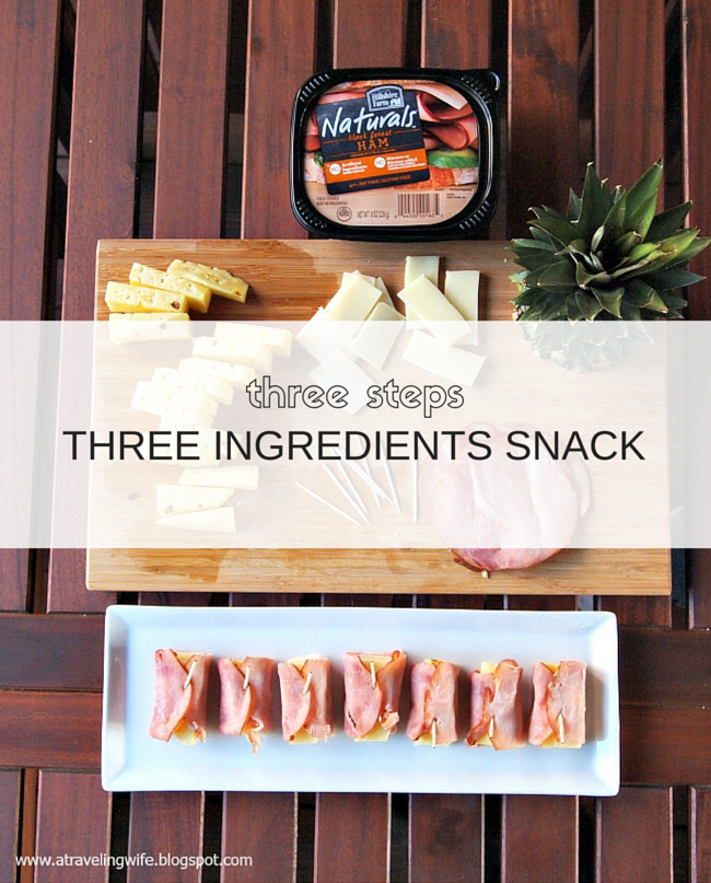 deli meat, pineapple, snacks, cheese #ad