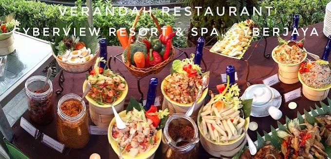 Berbuka Puasa di Buffet Ramadhan Verandah Restaurant, Cyberview Resort & Spa