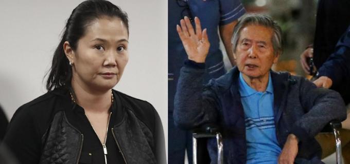 Keiko Fujimori fue trasladada a la DIROES para visitar a su padre| VÍDEO