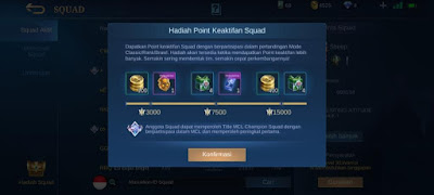Manfaat memiliki squad