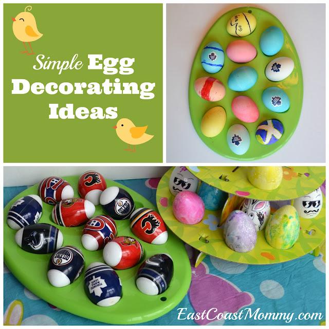 East Coast Mommy Simple Easter Egg Decorating Ideas