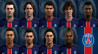Facepack Paris Saint Germain 2016 Pes 2013