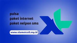 pulsa paket internet nelpon sms xl