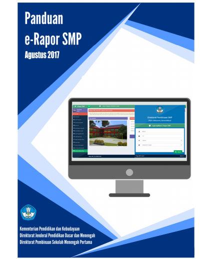 Panduan Aplikasi E-Rapor SMP Tahun 2017