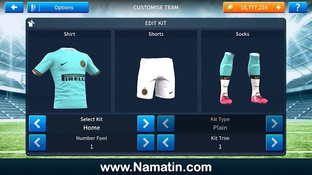 Jersey Dream League Soccer Inter Milan 2020