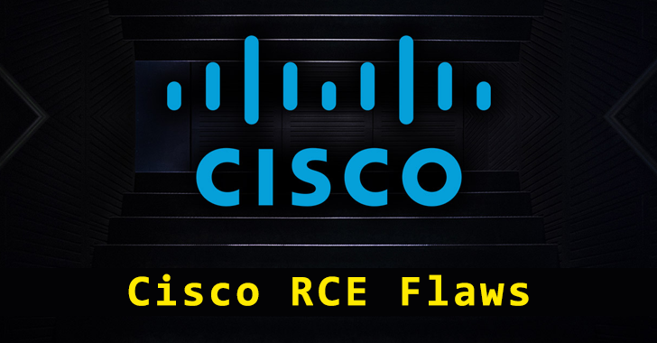 Cisco RCE Flaws