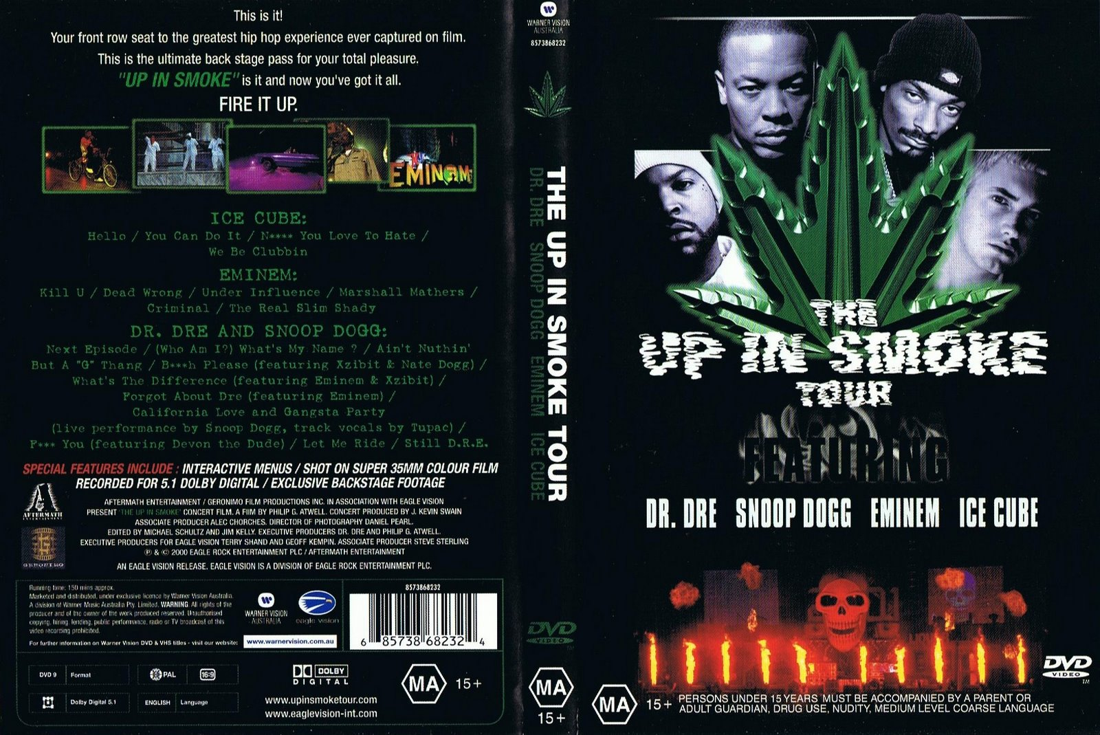 2S1K - The Wise Shall Stand: Dr Dre Up In Smoke Tour 2000