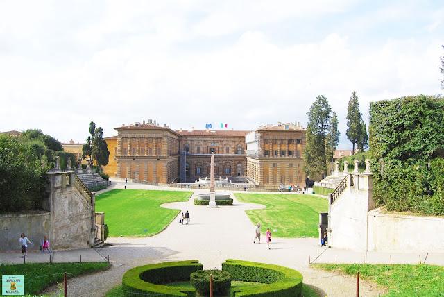 Jardín Bóboli de Florencia