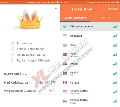 Download Turbo VPN Mod VIP Premium Apk Terbaru