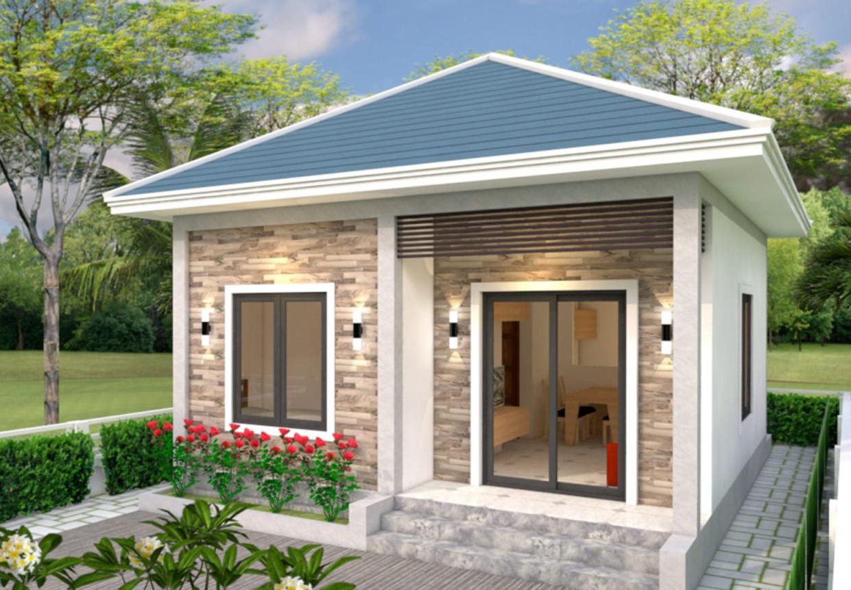 Plan Maison Simple 6 7 Et 2 Chambres Site Specialise Dans L Ingenierie Civile L Architecture