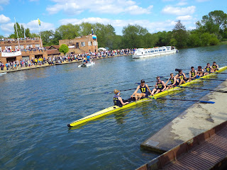 Oxford rowing