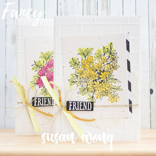 Awesomely Artistic - Stamping Susan Wong for Fancy Friday
