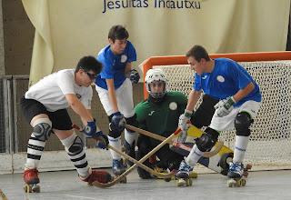 Hockey patines | Los infantiles del Gurutzeta se quedan a un paso de ir al Campeonato de España