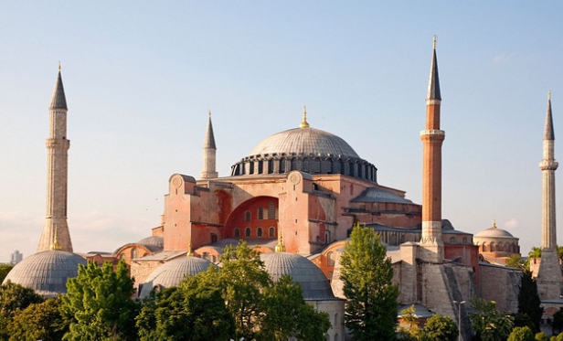 The Church of Hagia Sophia, Istanbul, Turkey