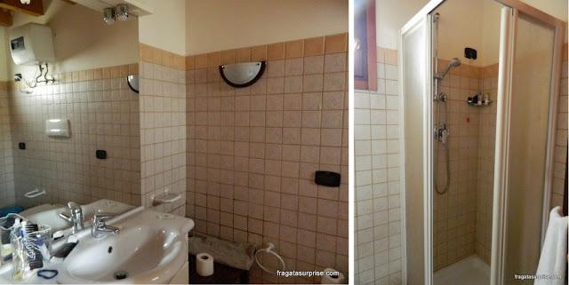 Banheiro de apartamento para aluguel de férias em Santa Maria, Ilha do Sal, Cabo Verde