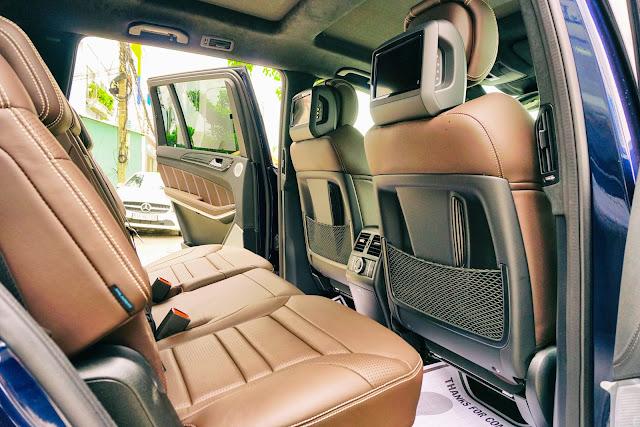 Ghế ngồi Mercedes AMG GLS 63 4MATIC thiết kế rộng rãi, thoải mái