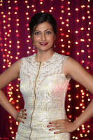 Hamsa Nandini in stunning Sleeveless Designer Gown at Zee Telugu Apsara Awards 2017 02.JPG