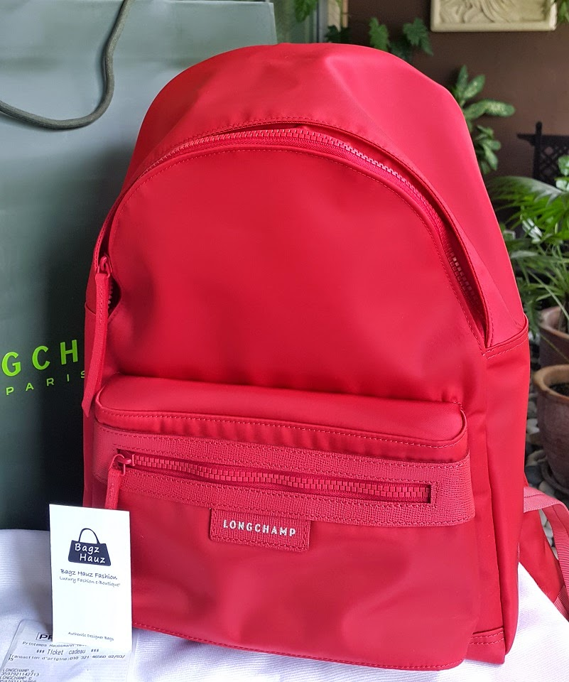 0beae01a5b2f LONGCHAMP Le Pliage Neo Backpack - Color  Poppy ~ For Zaty ~