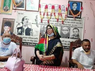 আত্রাইয়ে তৃণমূল নেতা কর্মীদের নিয়ে মরহুম ইসরাফিল আলমের সহধর্মিণীর মত বিনিময় সভা অনুষ্ঠিত