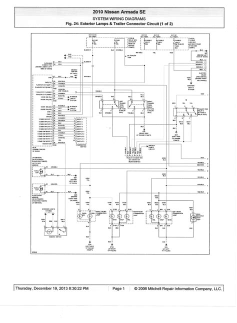 Wiring Diagram Blog  2014 Nissan Armada Wiring Diagram