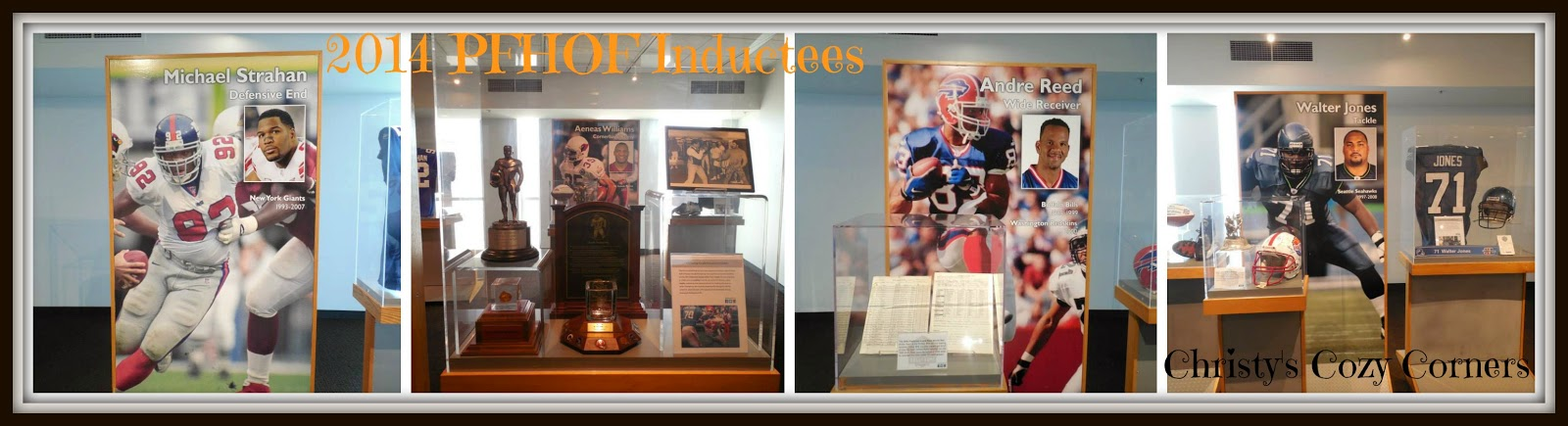 Visit the Pro Football Hall of Fame in Canton, Ohio
