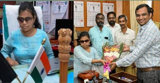 देश की पहली नेत्रहीन महिला बनी IAS ऑफिसर
