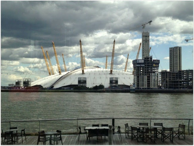 O2 Arena from Radisson Blu Edwardian New Providence Wharf Hotel London