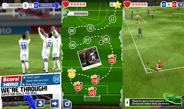 Score Hero Apk Mod v1.50 Terbaru (Unlimited Money)