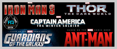 What are the Marvel Phase 3 Films