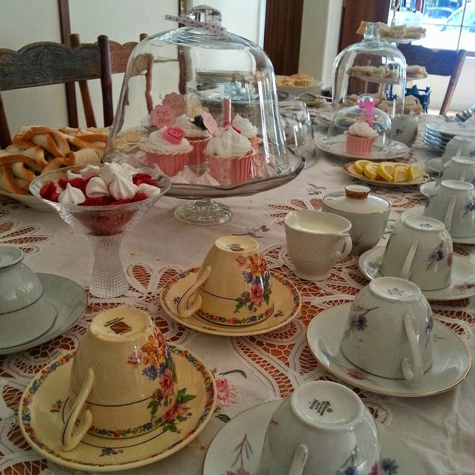 High Tea to raise money for Oxfam