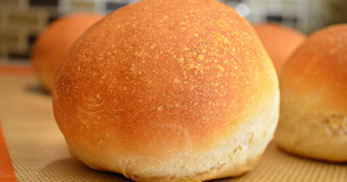 Homemade Crusty Hamburger Buns | Serena Bakes Simply From Scratch