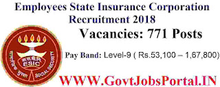 ESIC Delhi Recruitment 2018
