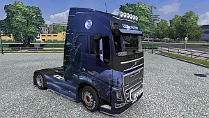 Winter Wolves skin for Volvo 2012