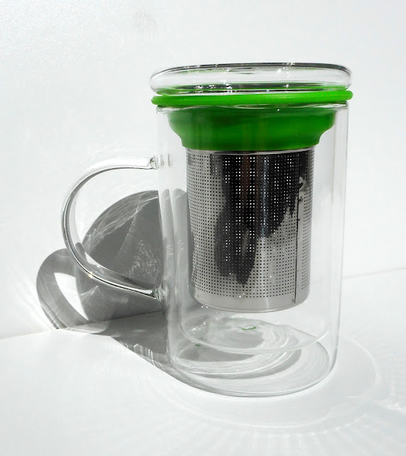 NATURAL MOJO - Tea Glass infuser - Infuseur à Thé