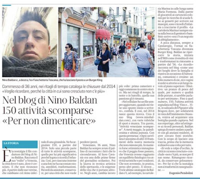 """Nino Baldan su """"La Nuova di Venezia e Mestre"""": l'articolo integrale"""