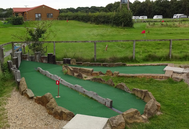 Crazy Golf at York Golf Range