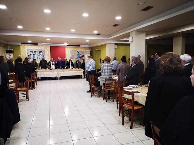 Οι απόστρατοι του Λιμενικού Σώματος Αργολίδας έκοψαν την πίτα τους