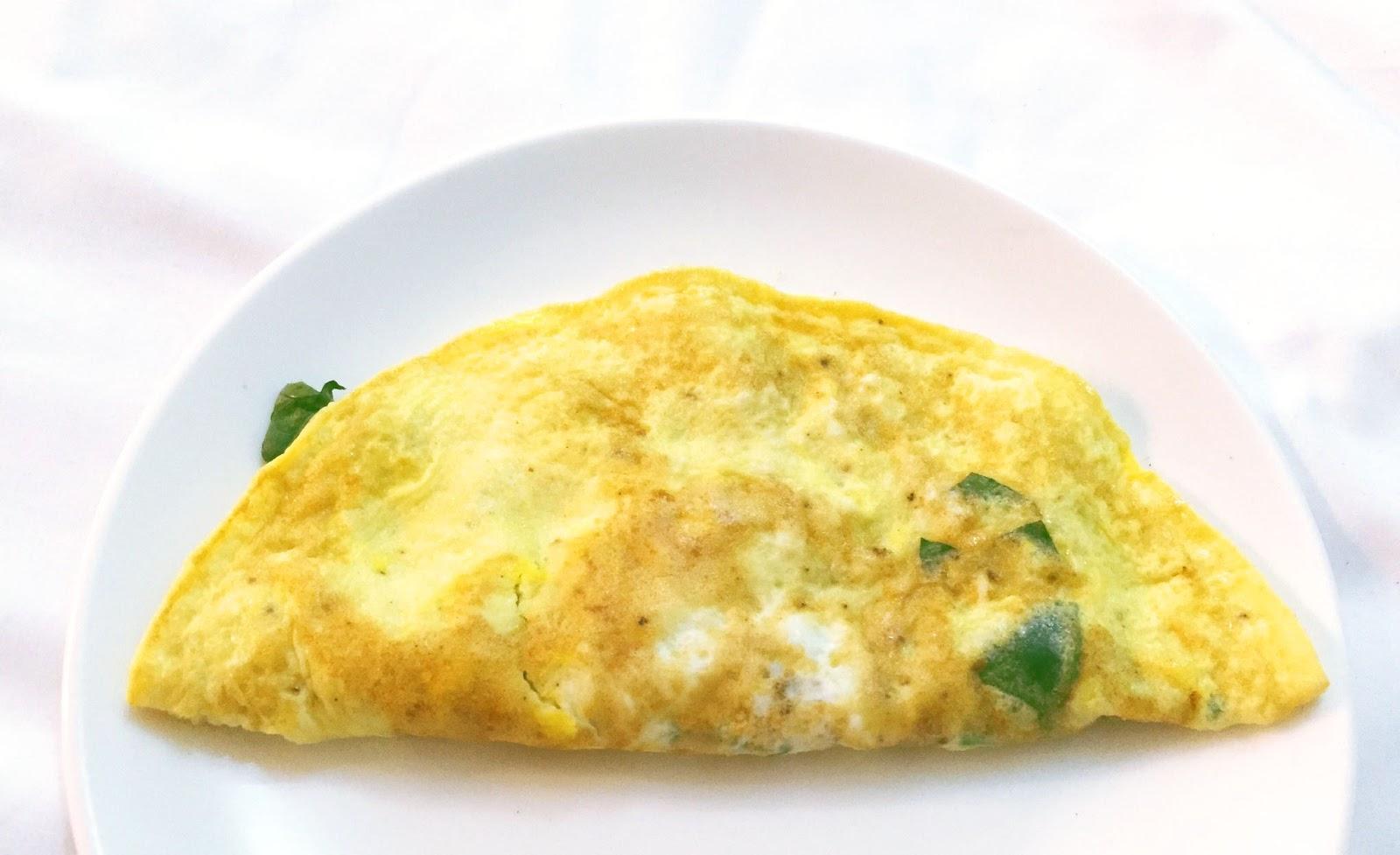 cuisiner bien spinat ziegenk se omelette. Black Bedroom Furniture Sets. Home Design Ideas