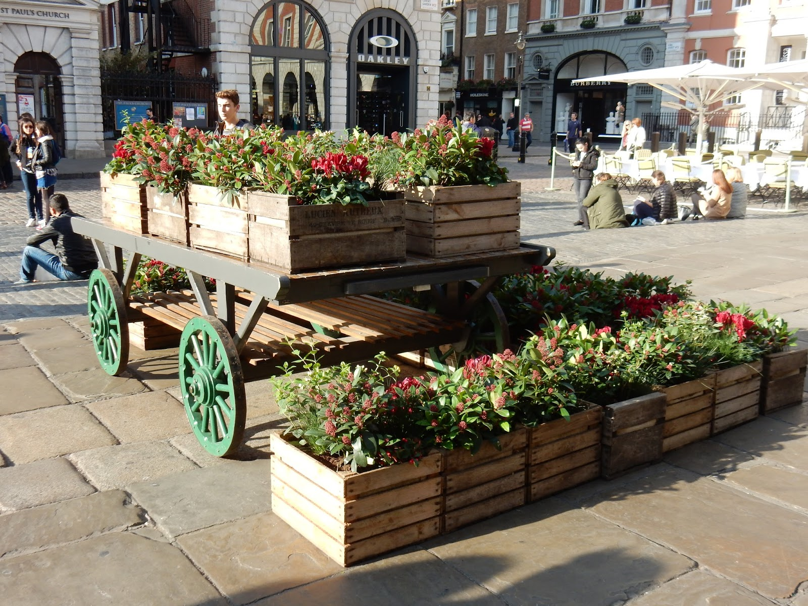 Covent garden l un de mes march s favoris londres blog d elisa n voyages photos - Le petit jardin covent garden metz ...