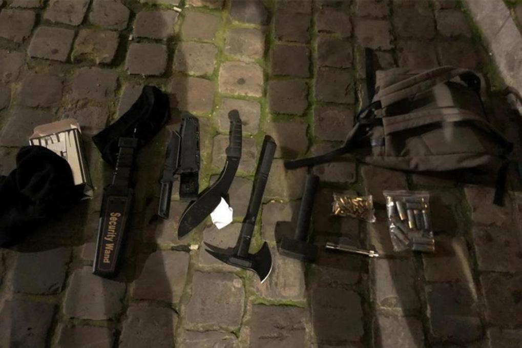 Un homme radicalisé muni de plusieurs armes interpellé à proximité d'un commissariat à Bruxelles