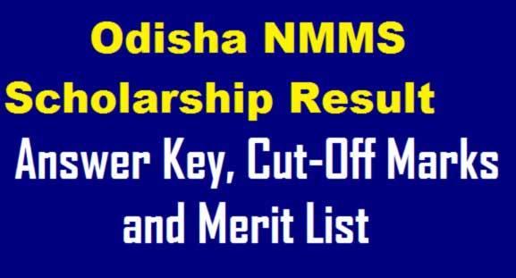 NMMS Result 2019 Odisha