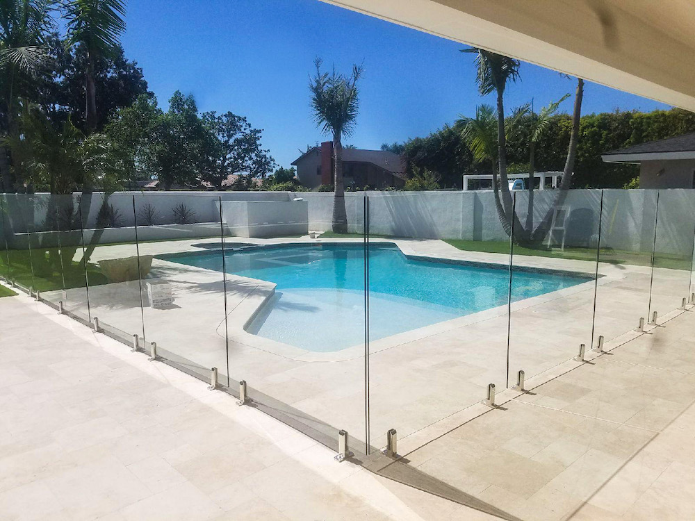 Family first everything you need to know about pool for Glass pool fences