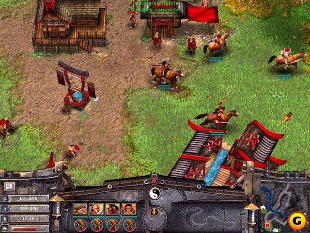Battle Realms PC Game Free Download Gameplay
