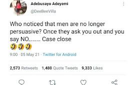 Men Are No Longer Persuasive - Lady Laments -